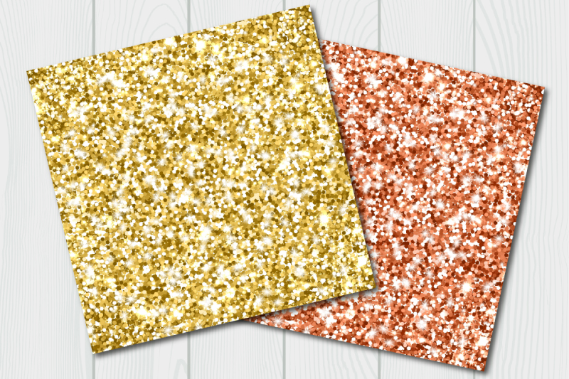 Glitter digital paper. Abstract background example image 3