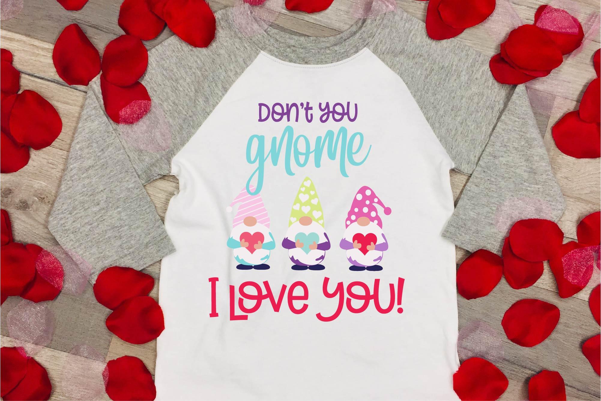 Valentine's Day SVG Valentine Gnome Bundle Gnome Sublimation example image 7