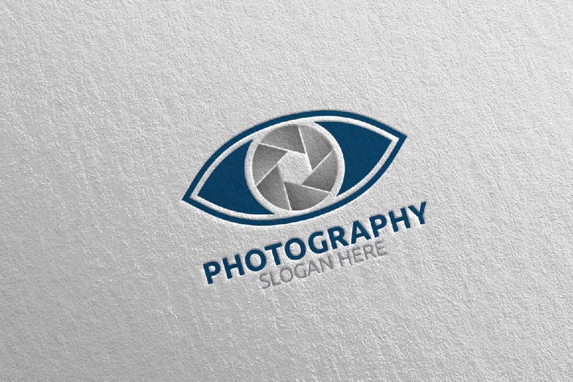 Eyes Camera Photography Logo 14 example image 4