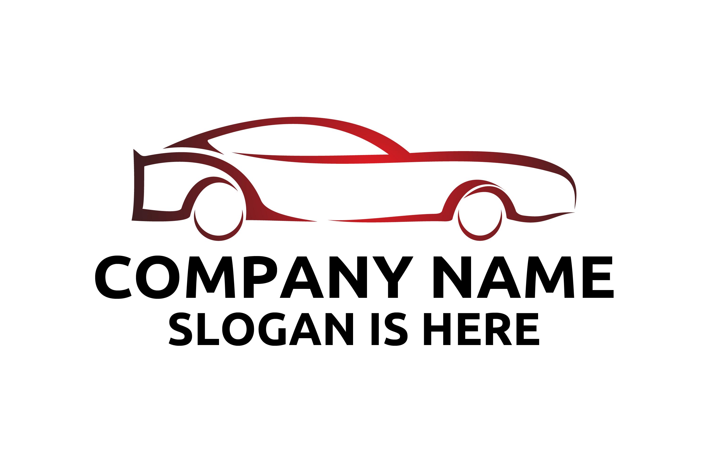 sport car logo, automotive vector logo design example image 1