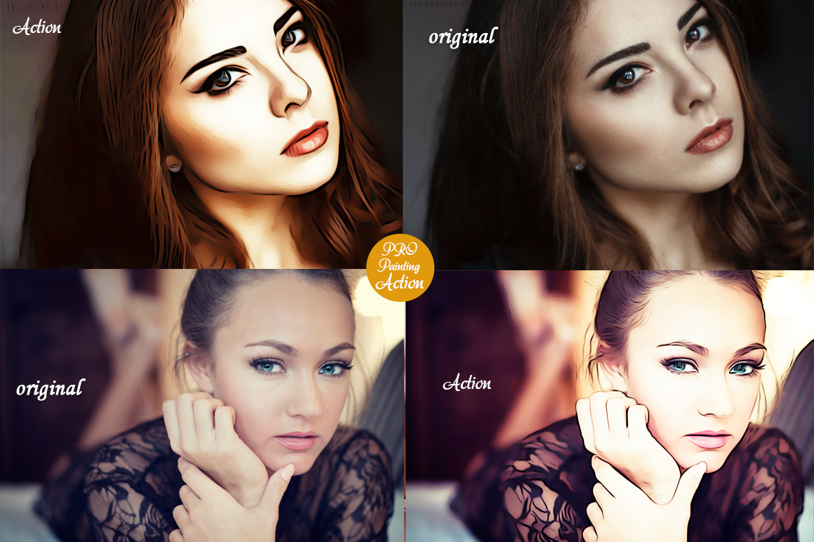 Realistic Oil Painting Effects - Photoshop Action v.5 example image 3