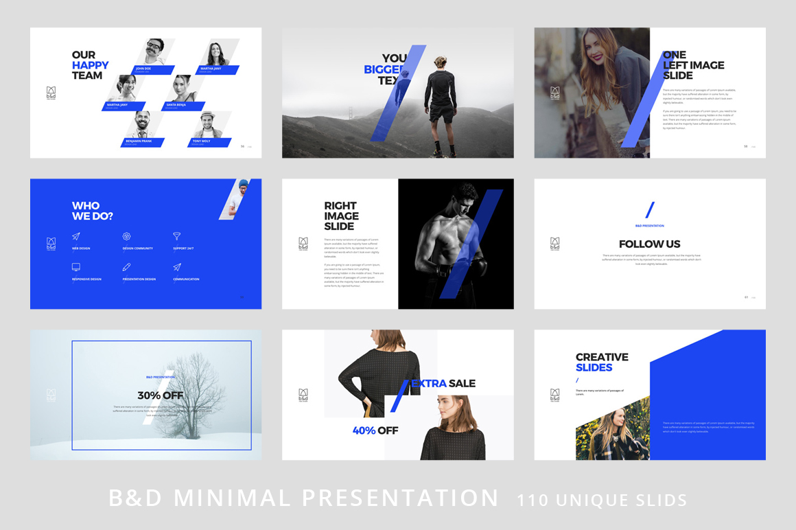 B&D-Powerpoint & Keynote Template example image 8