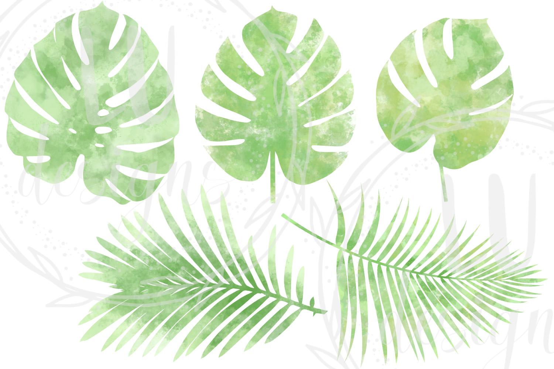 Watercolor Greenery example image 5