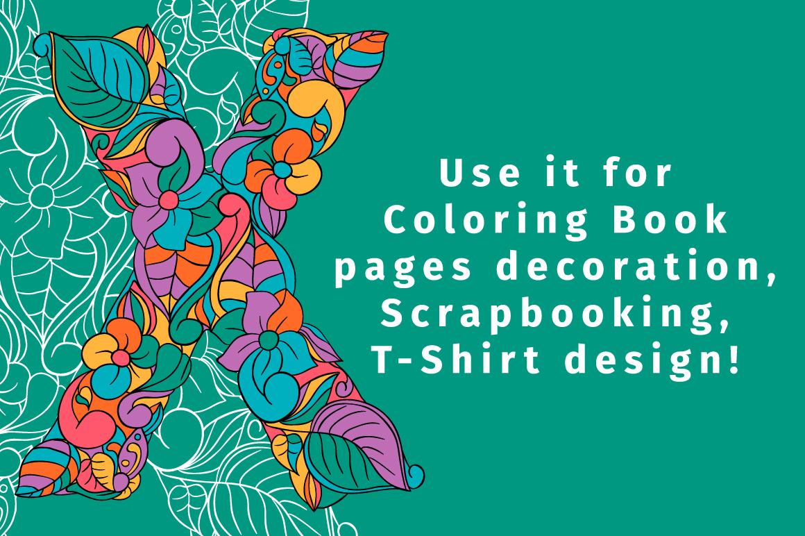 Batik India Color Font example image 5
