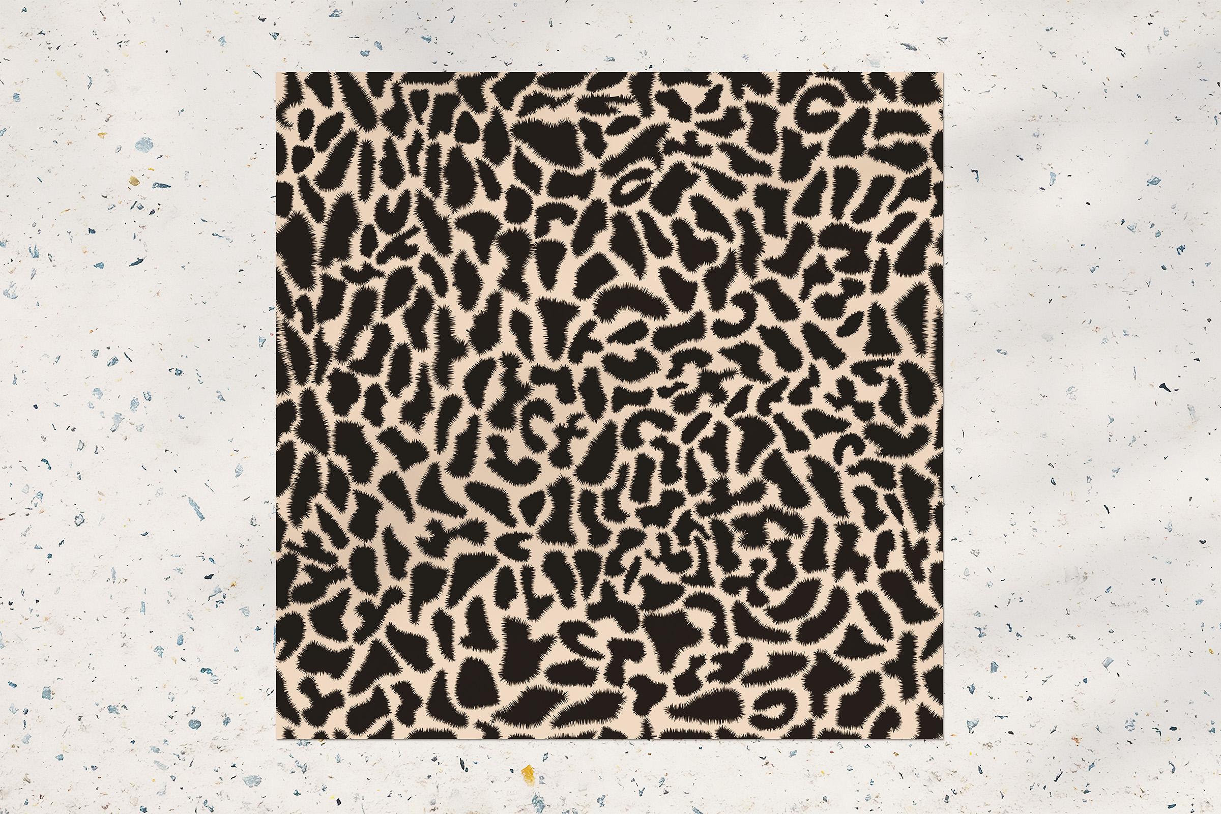 Animal print seamless pattern example image 2