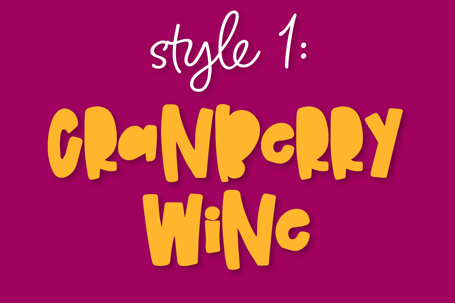 Cranberry Wine - A Striped Font Family of 6 New Fonts! example image 2
