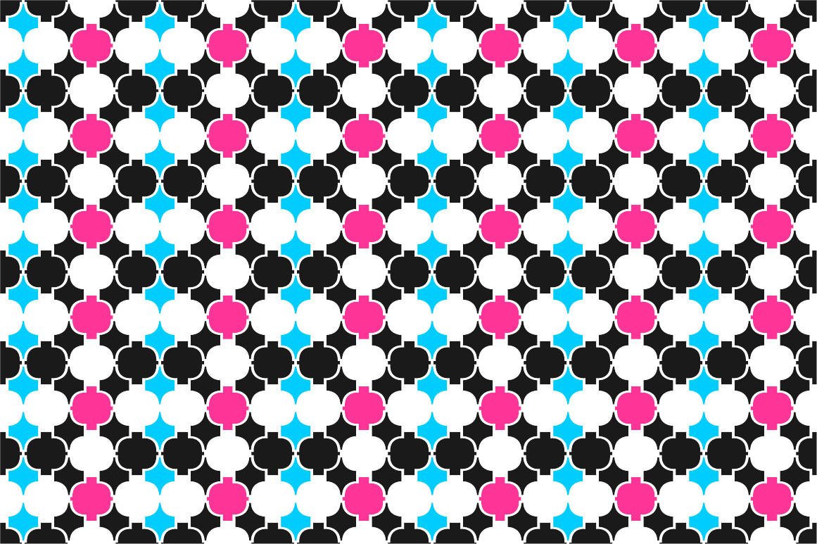 Colorful ornamental patterns. example image 5