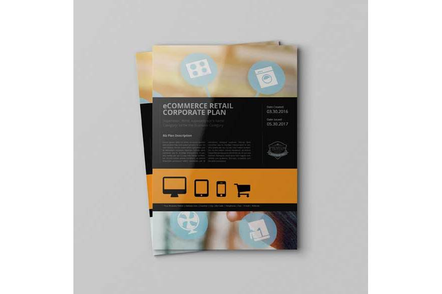 eCommerce Retail Corporate Plan Template example image 6