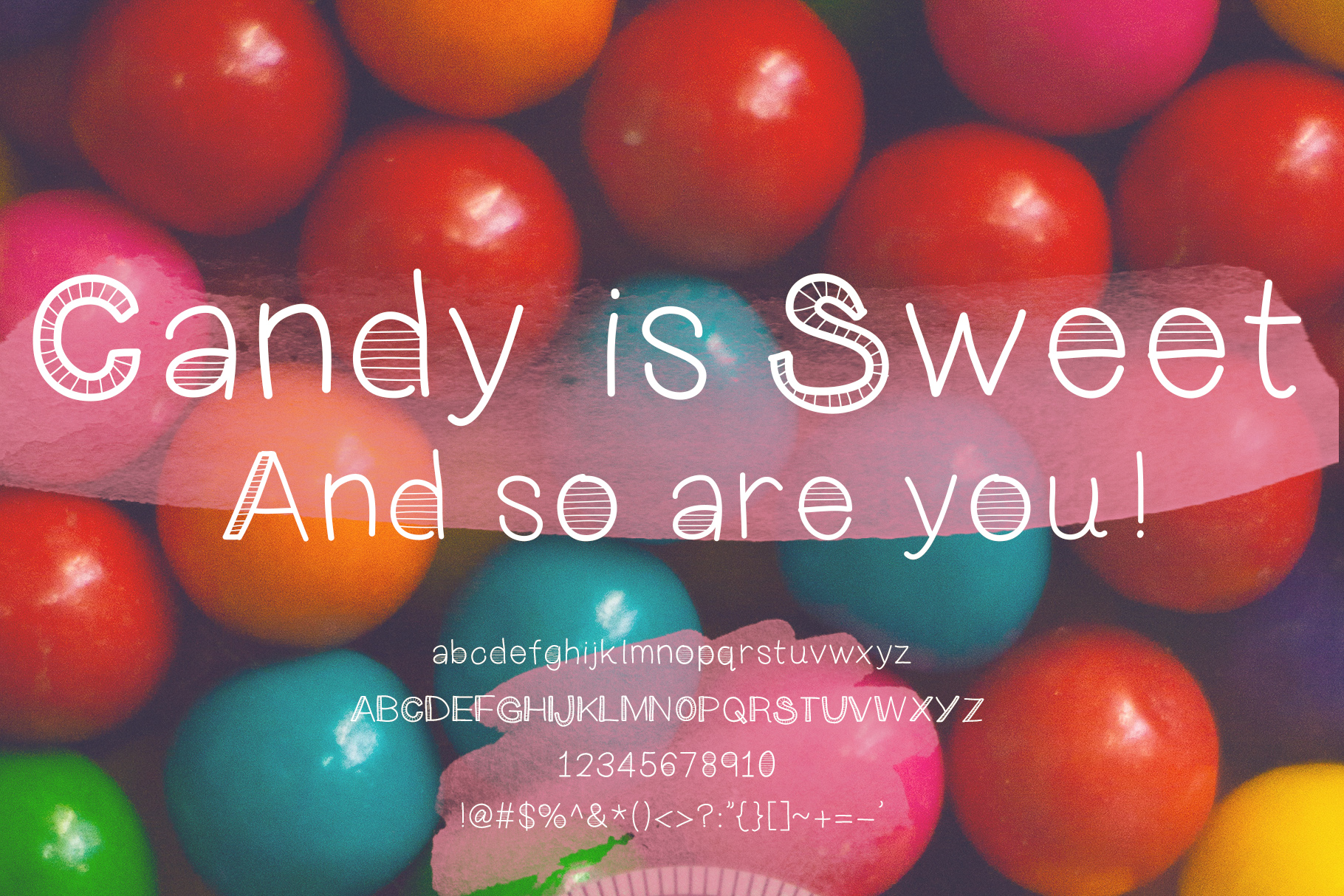 Keen On You a quirky, handwritten font with skinny lines example image 2