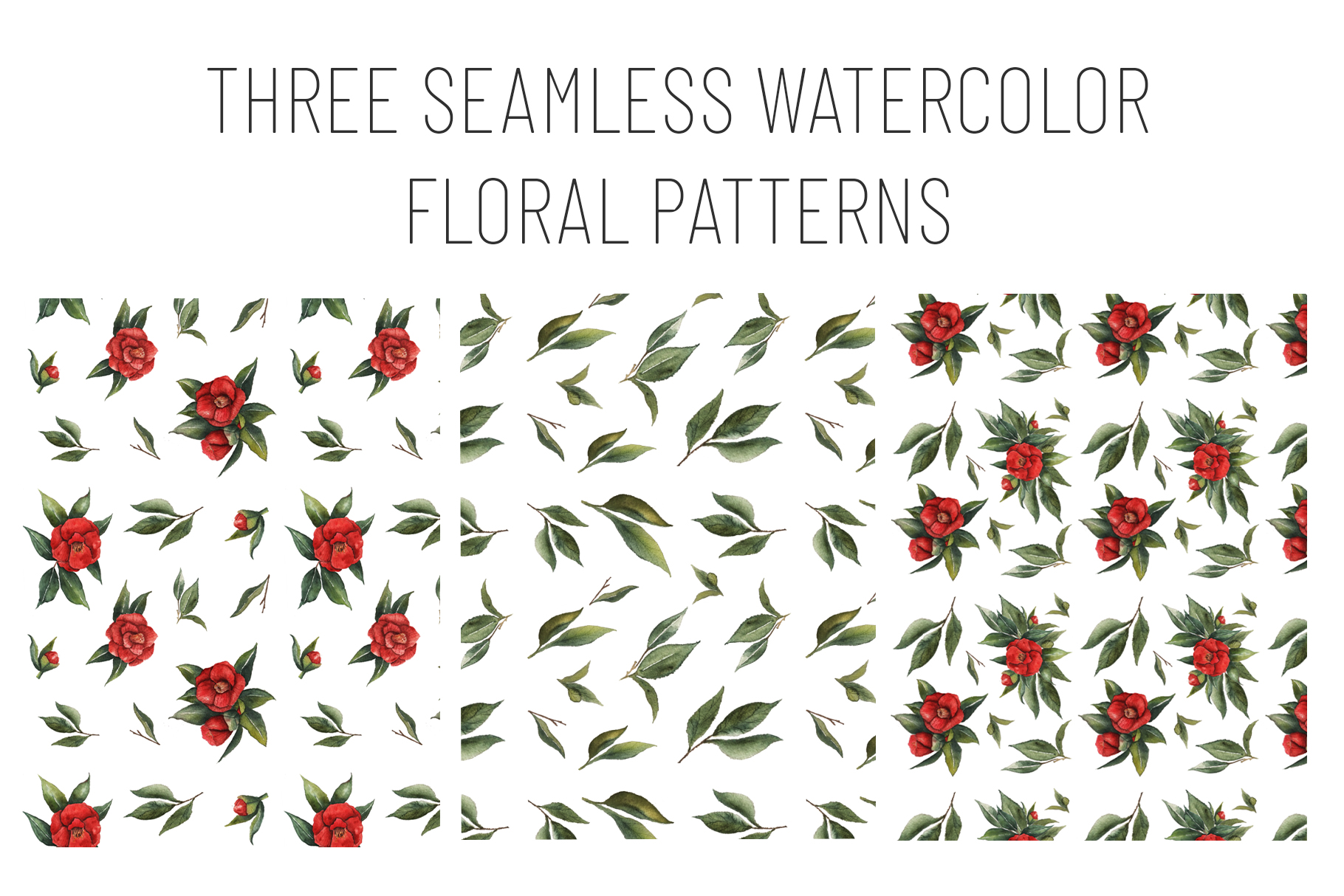 Watercolor Floral Collection example image 6
