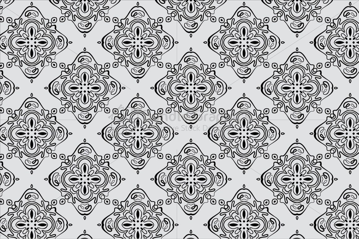 Linear Symmetrical Seamless Background example image 2