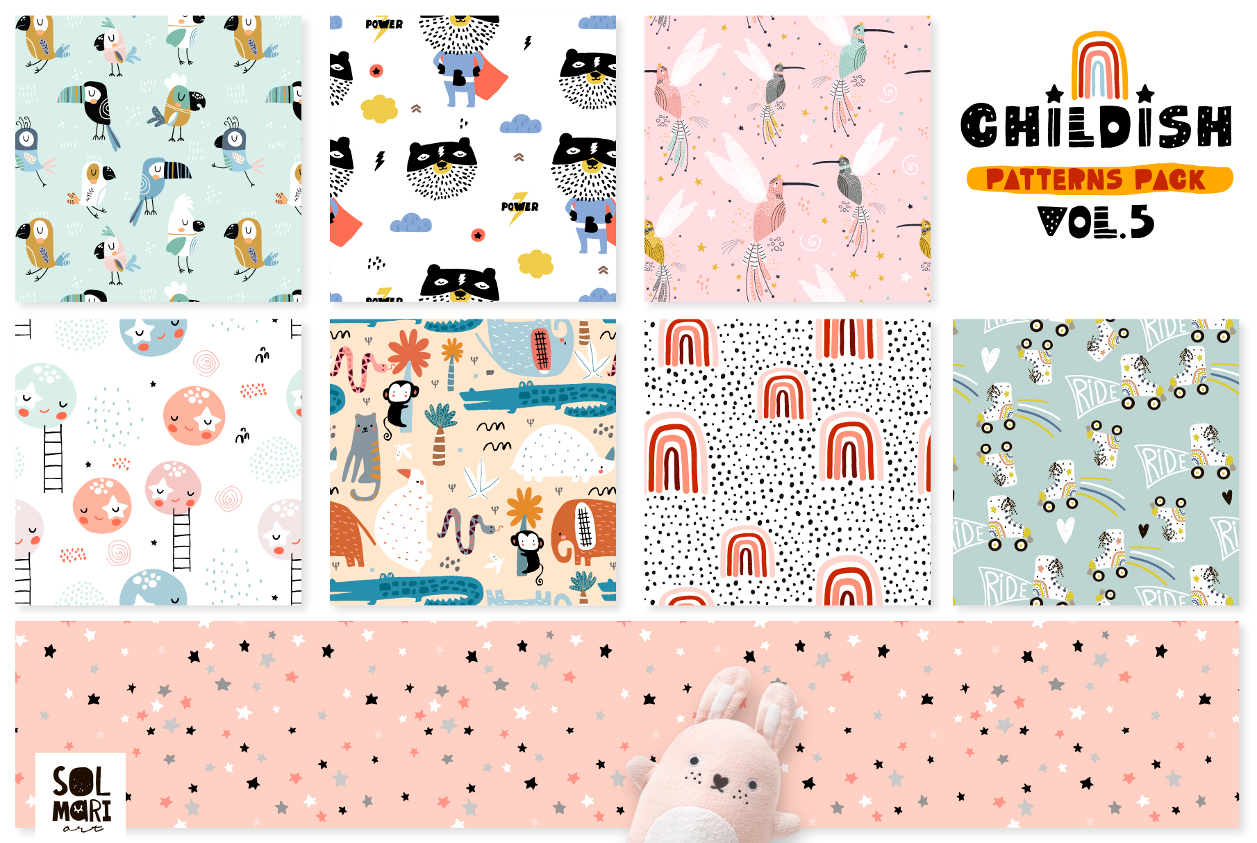 Childish patterns pack vol. 5 example image 2