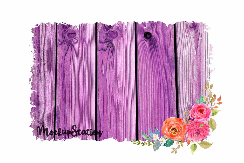 Sublimation Wood Background PNG Bundle, Frame Clip Art example image 2