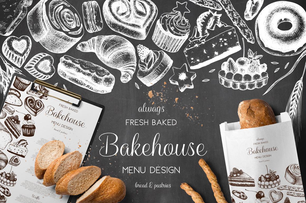 Bakery Menu Design example image 1