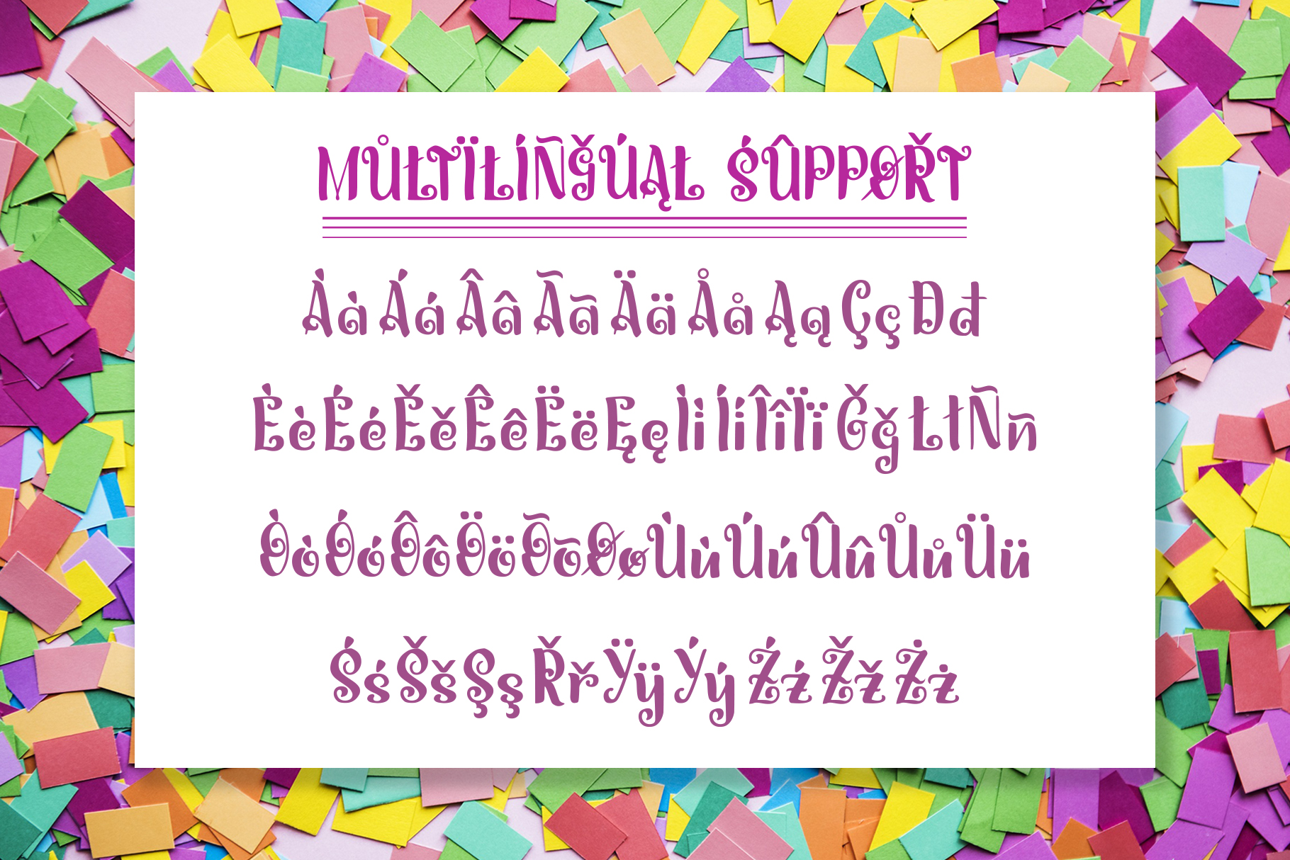 Miguelito - Hand Drawn Font example image 6