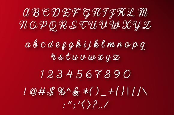 Baline Script example image 3