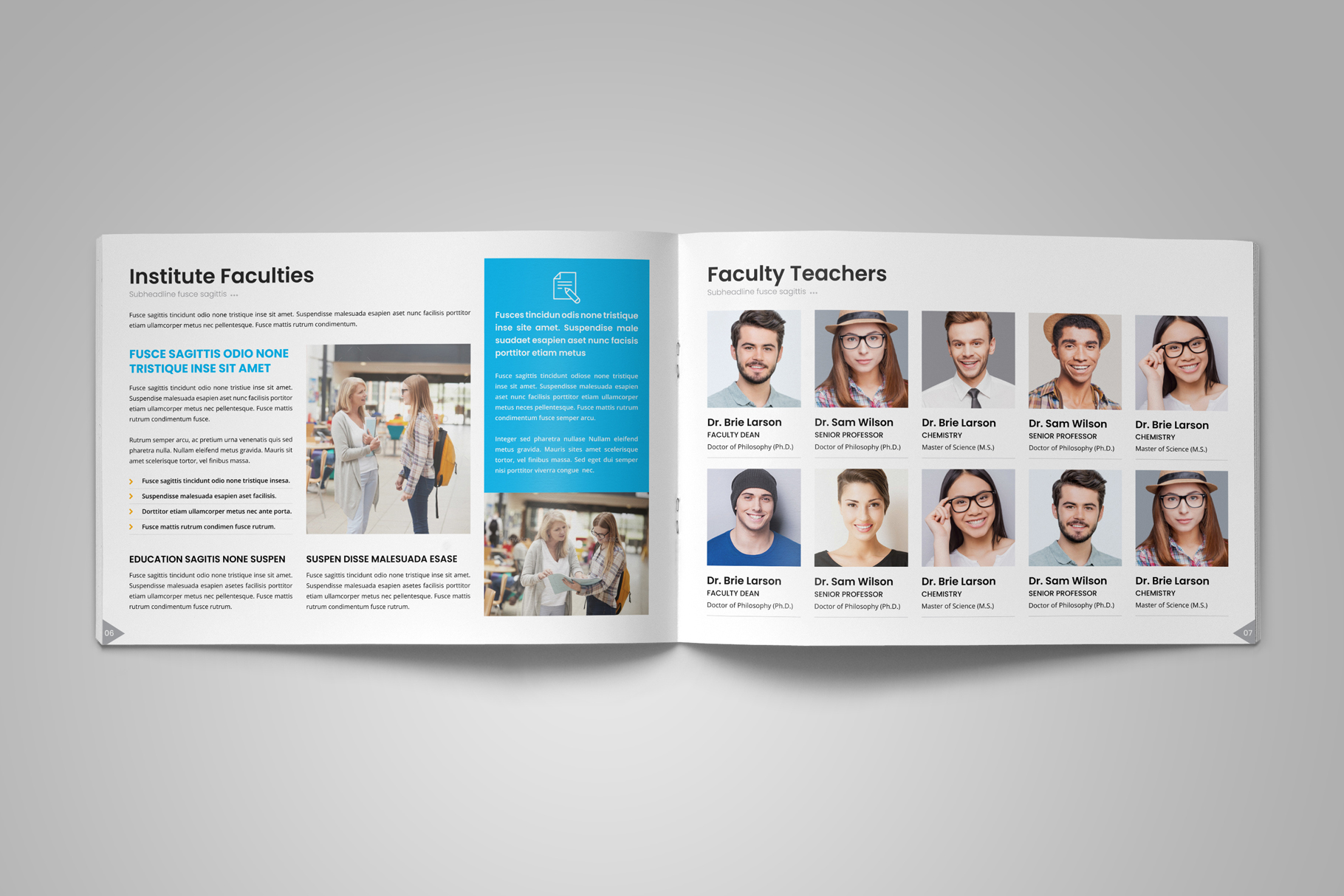 Education Prospectus Brochure v12 example image 6