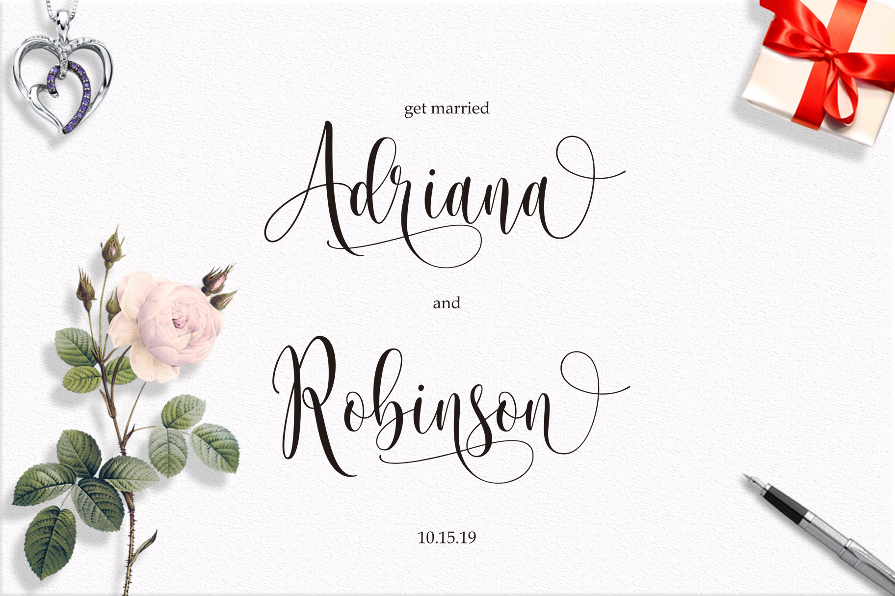 Someday Script Font example image 8