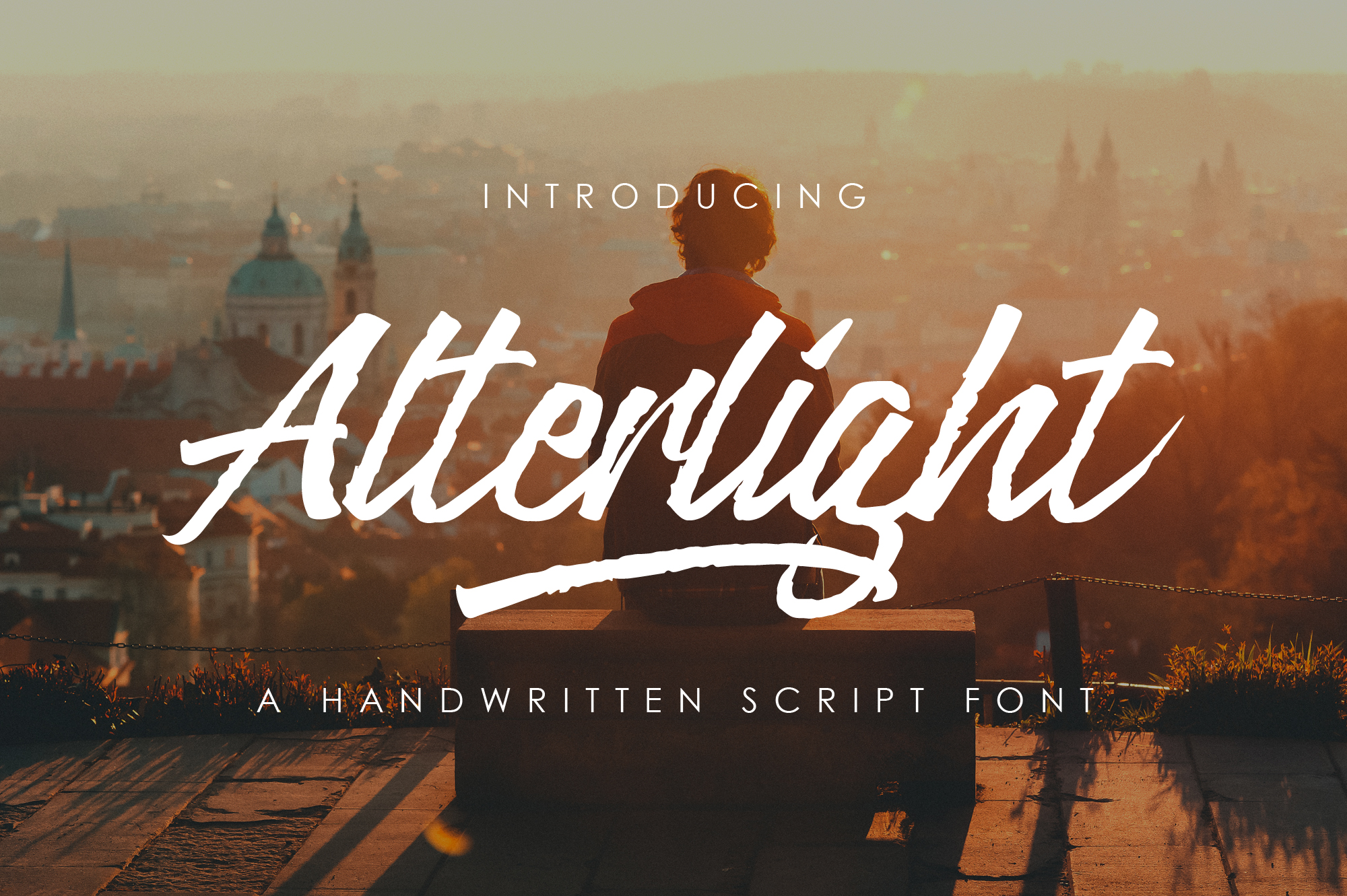 Alterlight - Free Font example 1