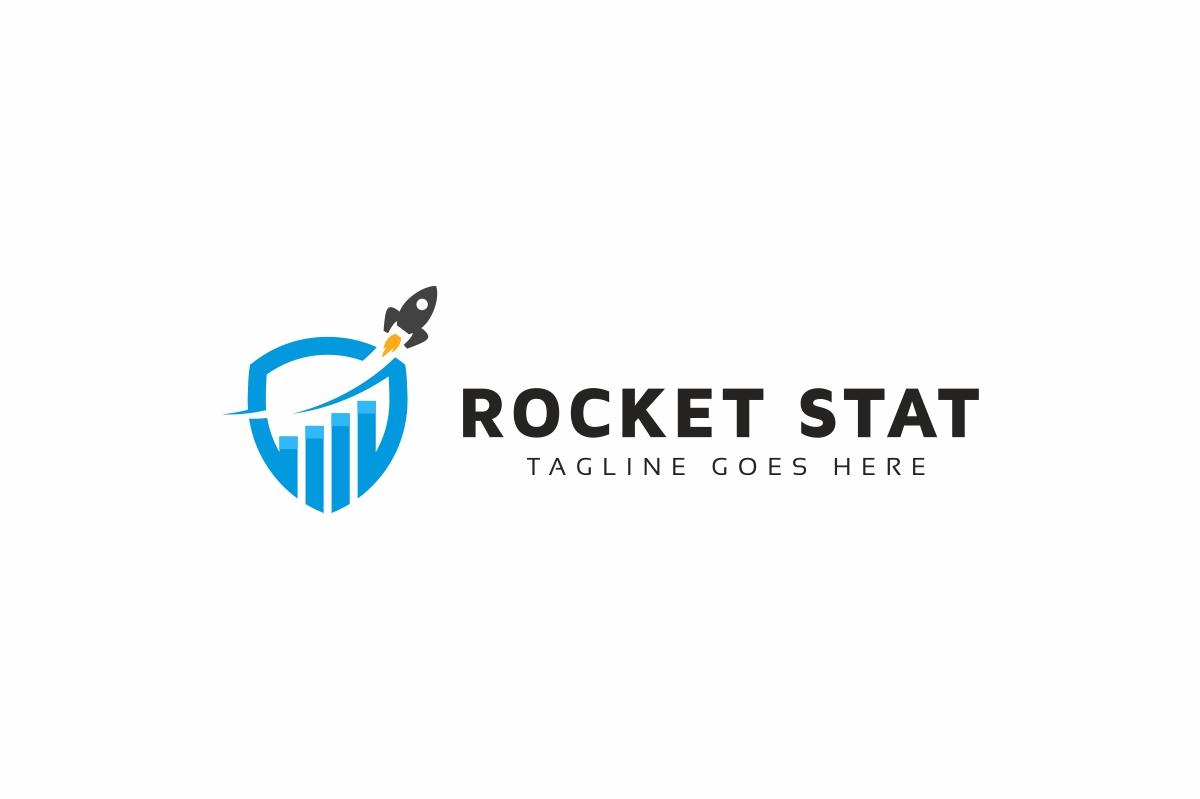 Rocket Stat Marketing Logo example image 2
