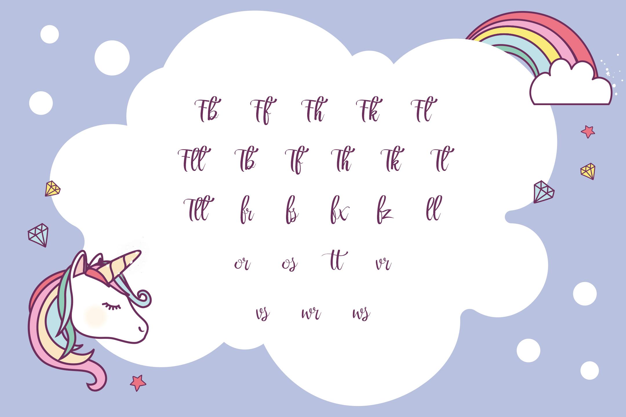 Rainbow Script example image 11