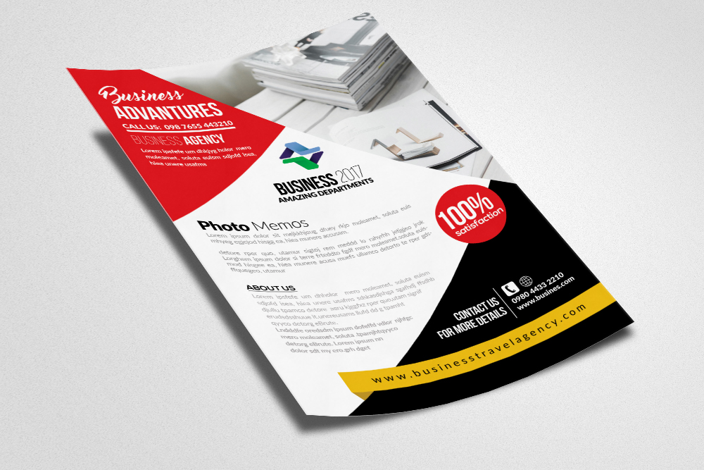 Homeowners Association Psd Flyer Templates example image 2