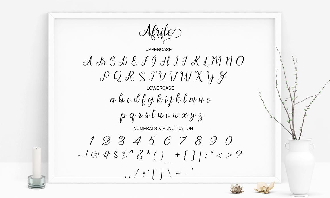 Afrile script example image 8
