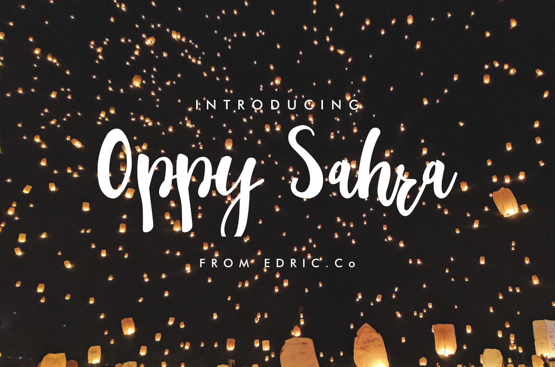 oppy sahra example image 1
