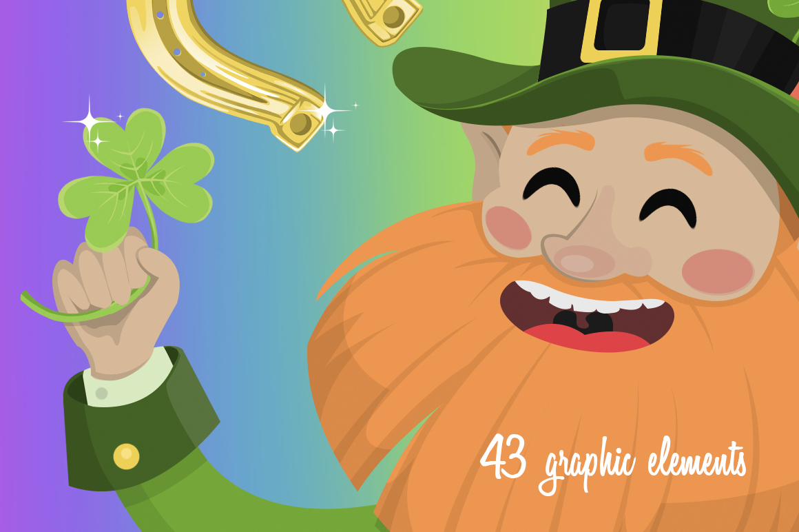 St. Patrick's Day Graphics Collection example image 3