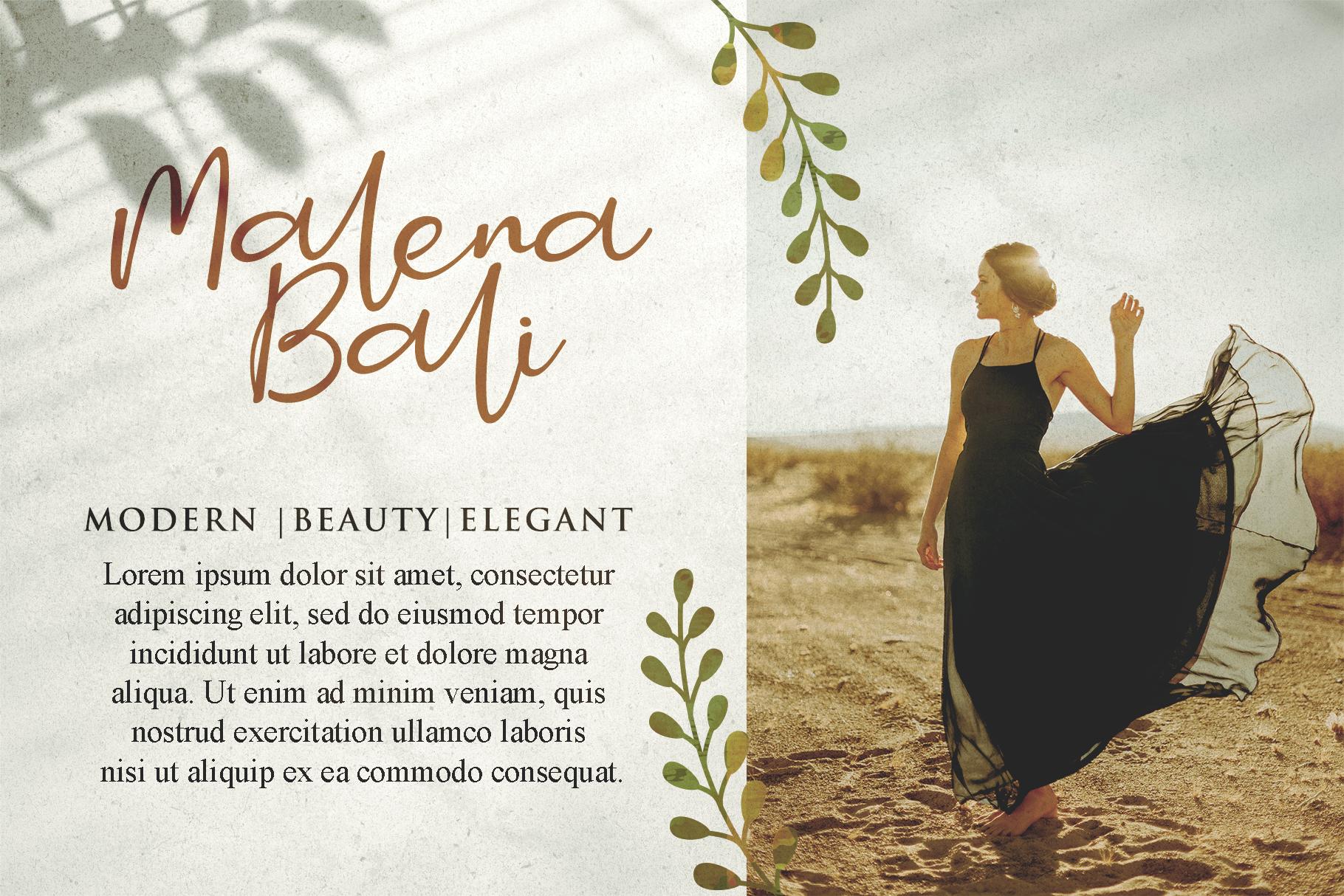 Smitta Bali - Luxury Signature Font example image 3