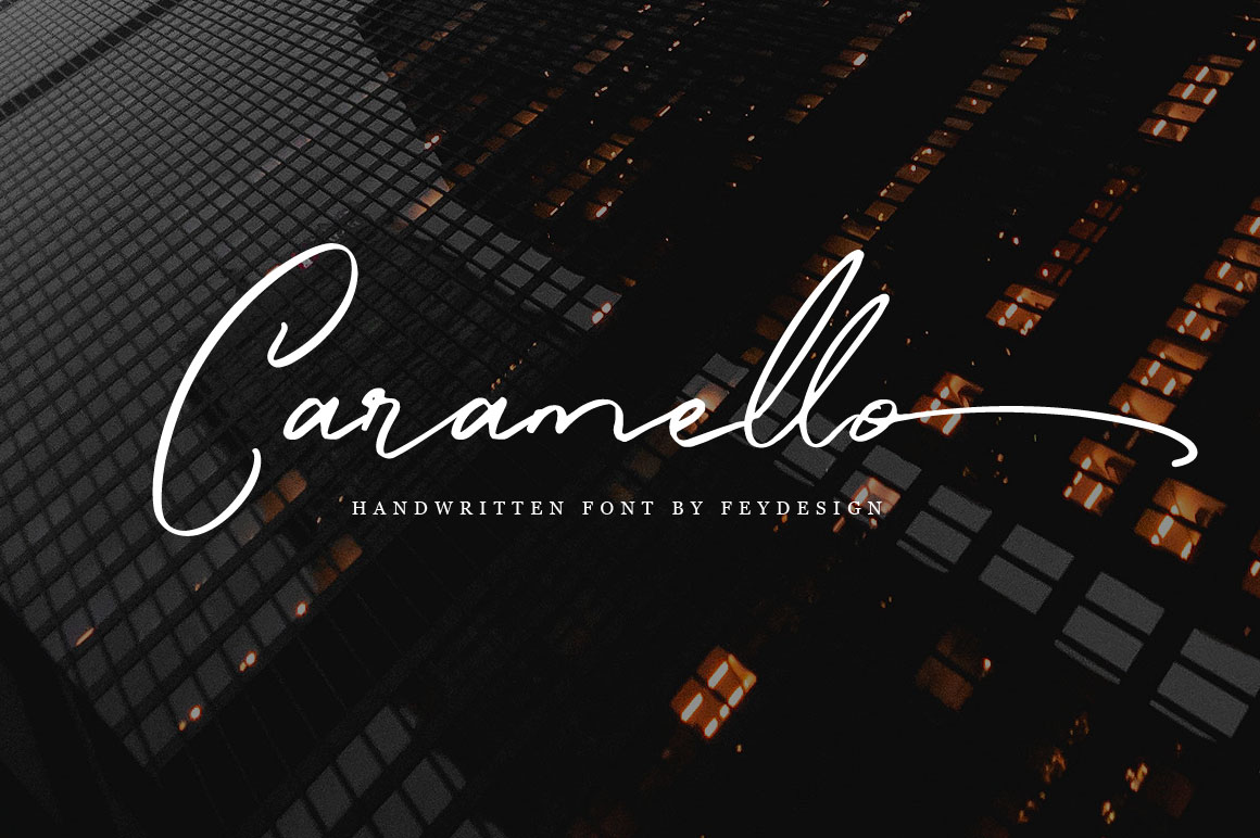 Caramello - Handwritting Script Font example image 1