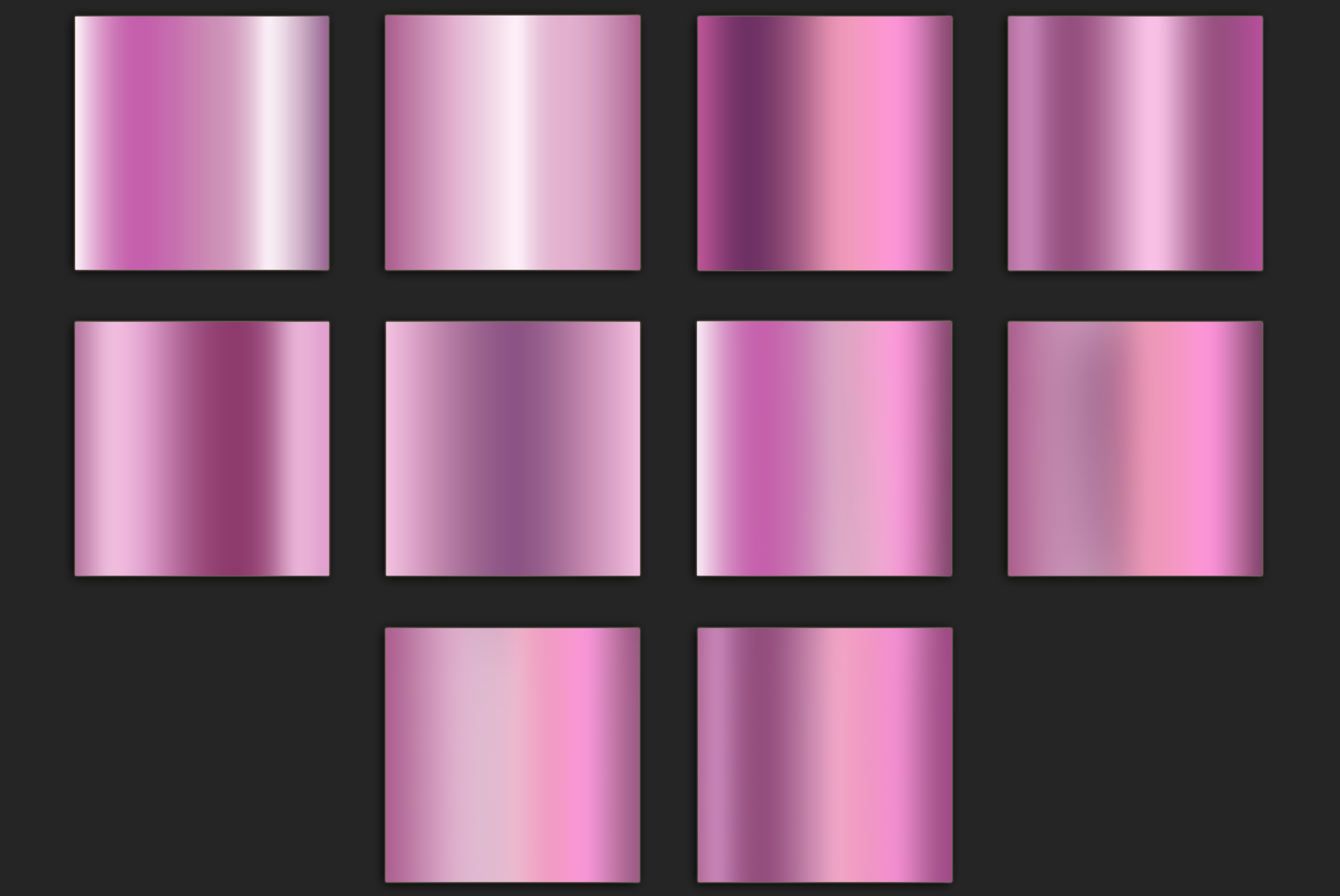 Pink Foil Textures example image 3