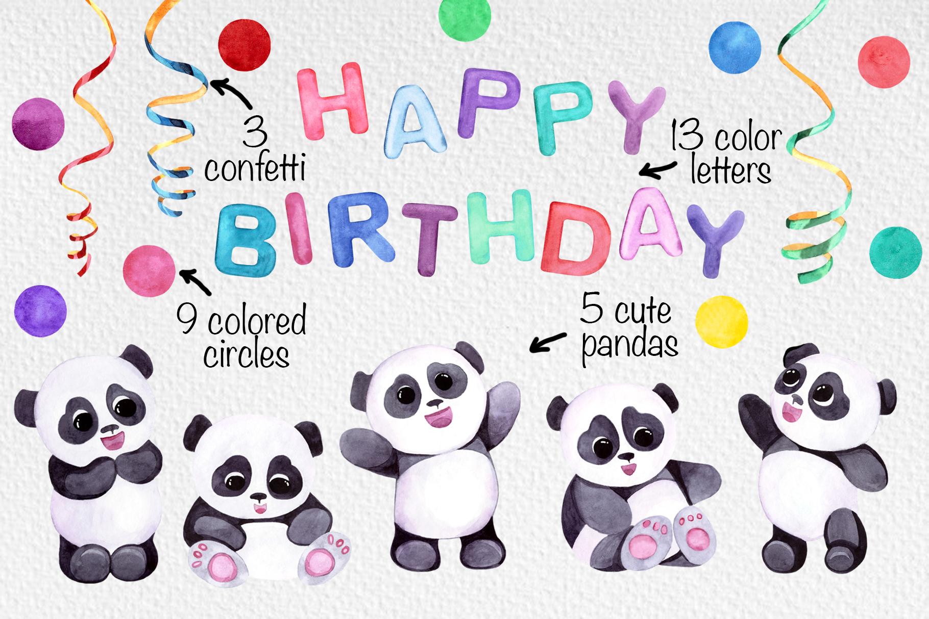 Panda's birthday example image 2