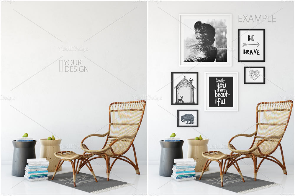 Wall Mockup - Bundle Vol. 1 example image 4