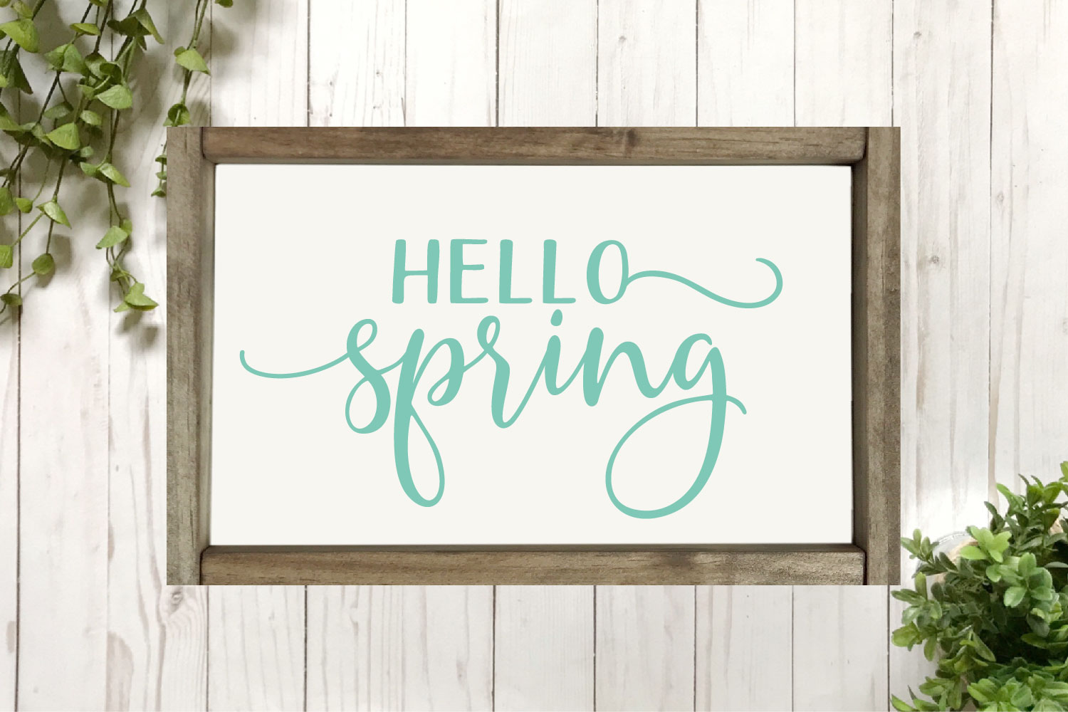 Spring SVG Bundle - Cut Files for Signs example image 2