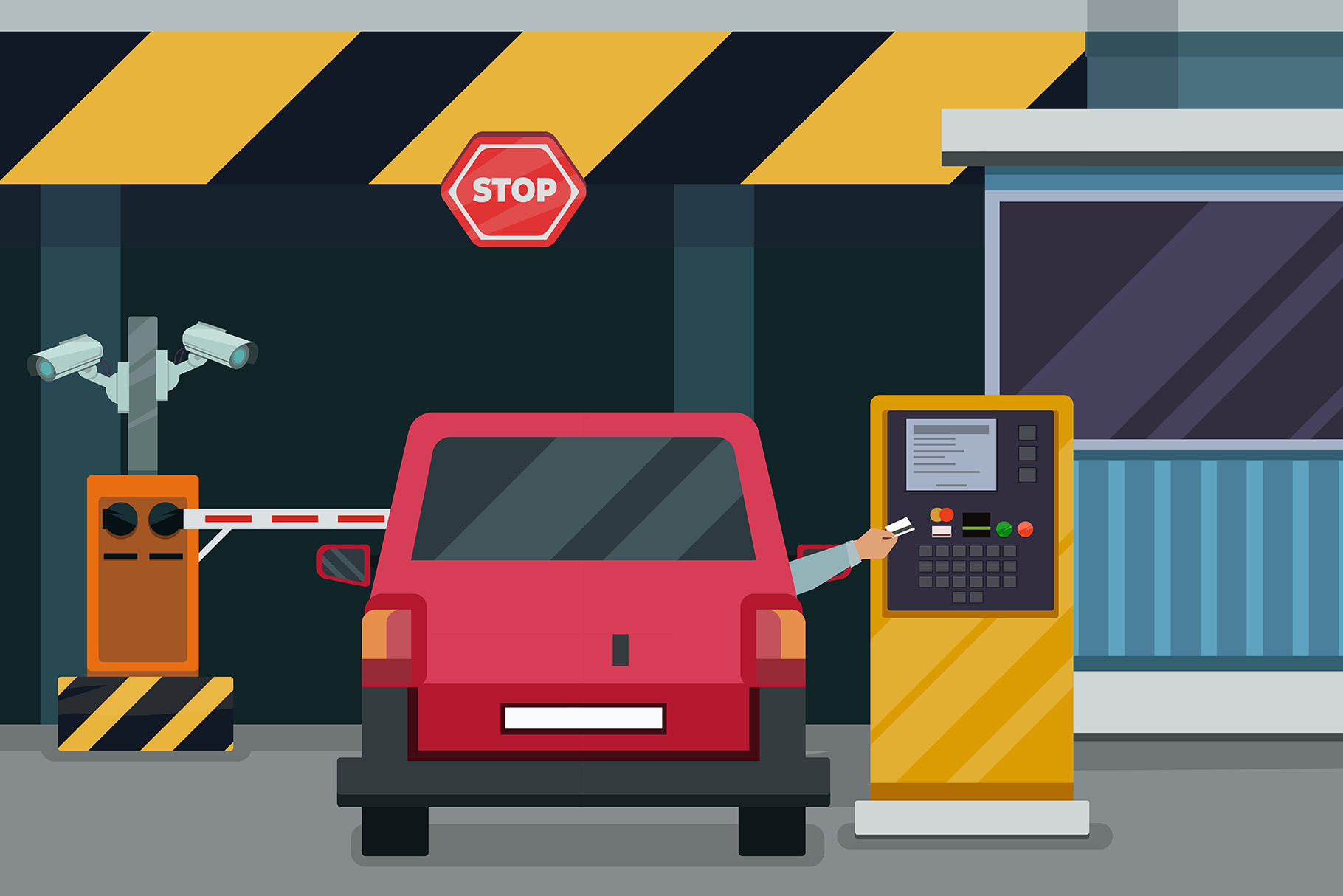 Parking Entrance Pay example image 1