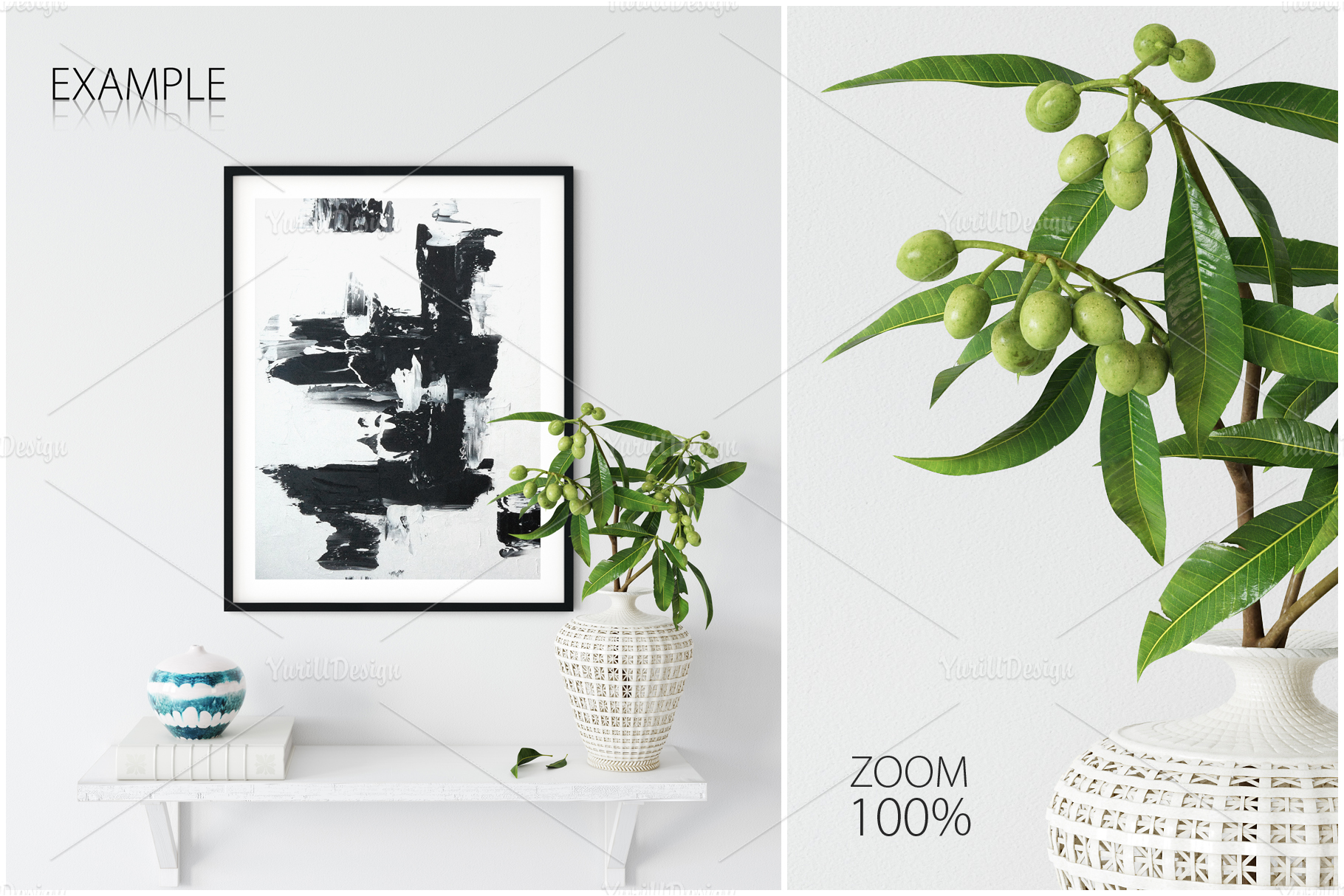 Frames & Walls Coastal Mockups Bundle example image 20