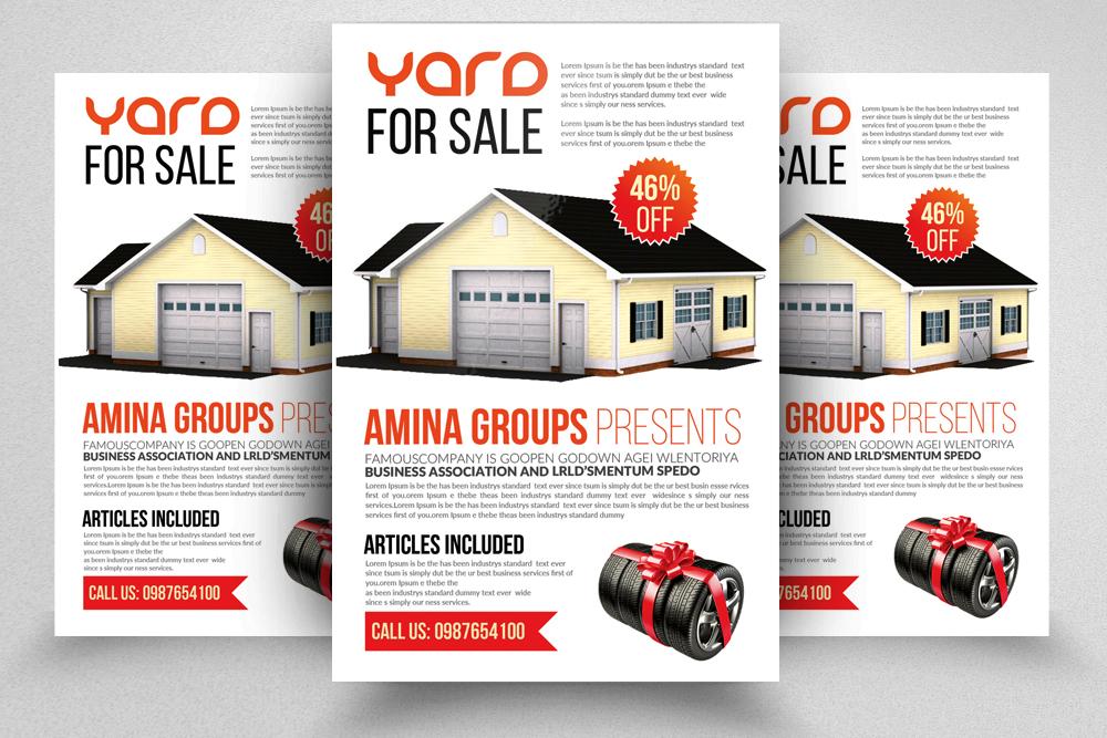 10 Garage Sale Flyer Bundle example image 9