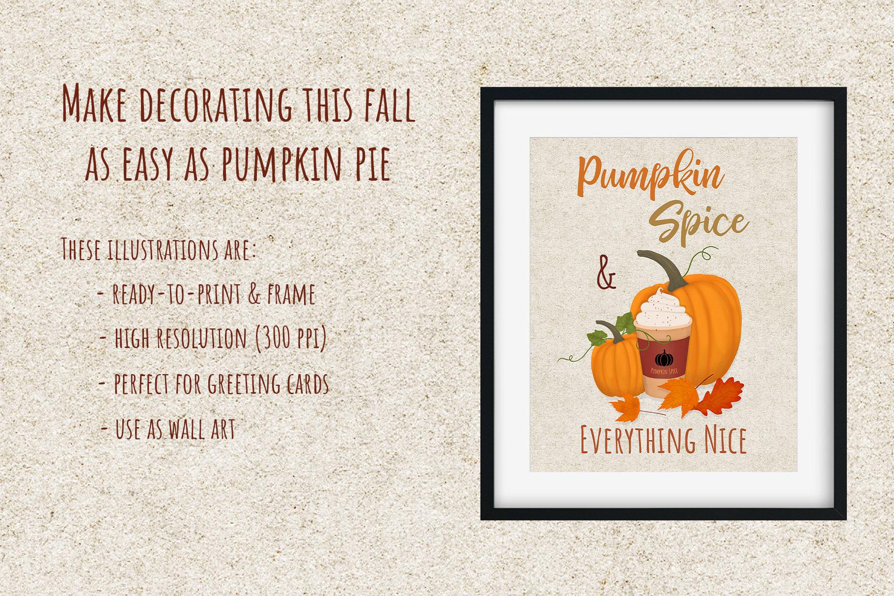 Autumn Printables & Illustrations example image 3
