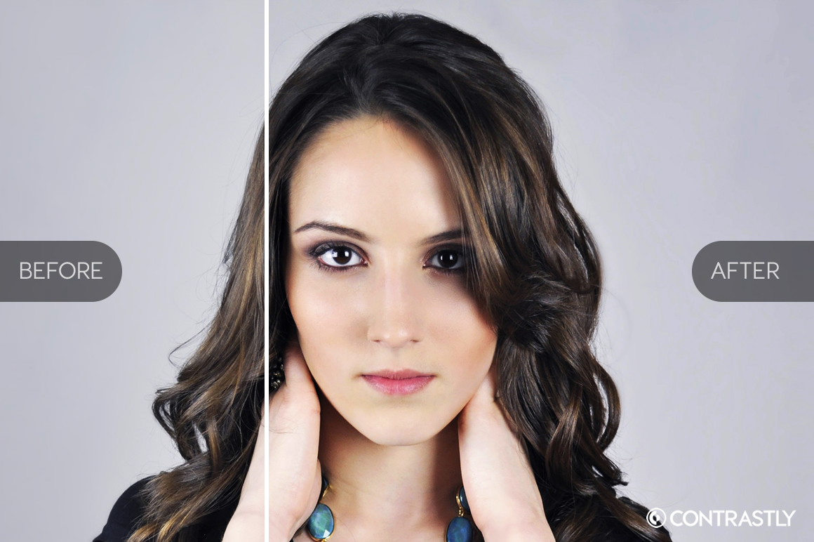 Portrait Series Photoshop Actions example image 4