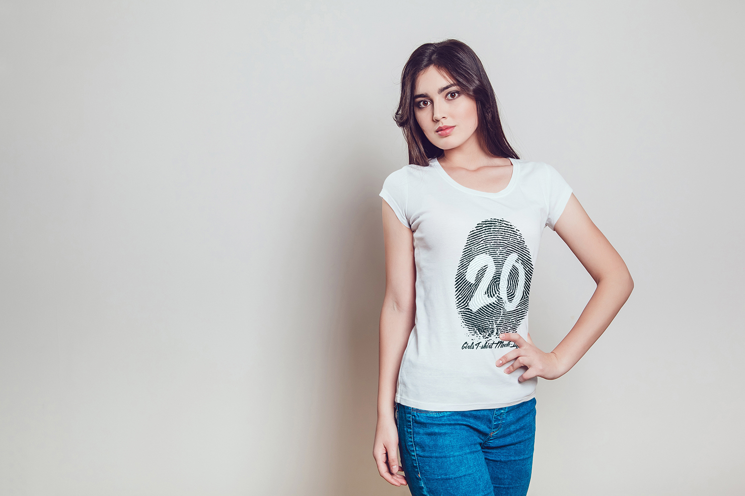 20 Top Girls T-Shirt Mock-Up example image 13