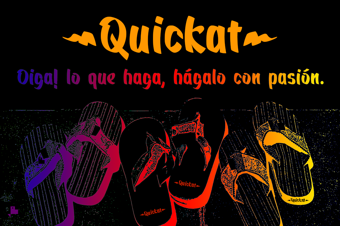 Quickat Font example image 7