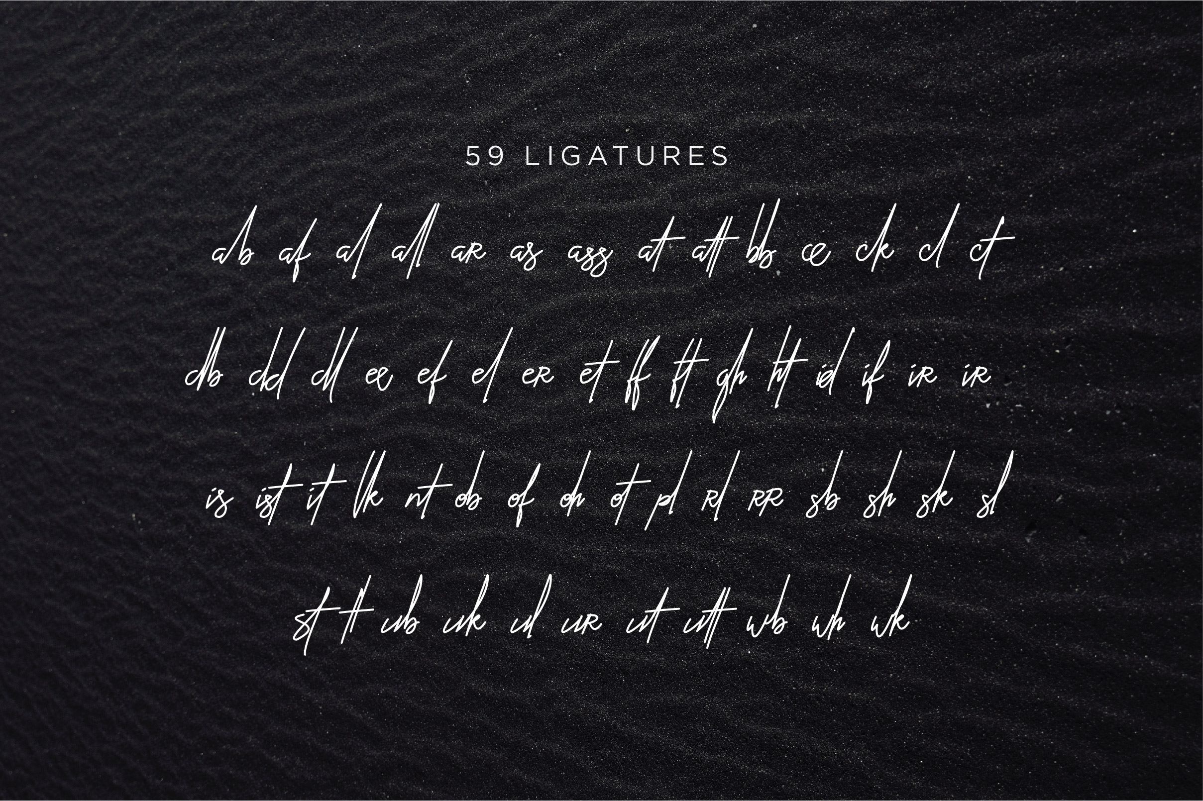 Ballistick - Classy Script Font with Extra Bonus example image 8