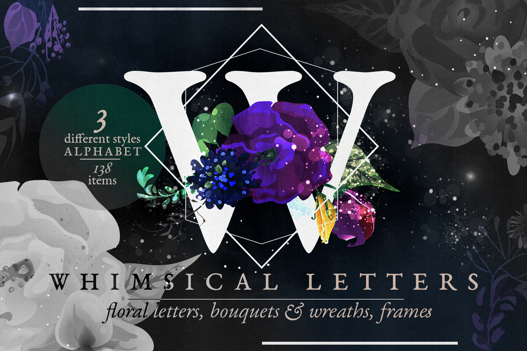 Whimsical Letters example image 1