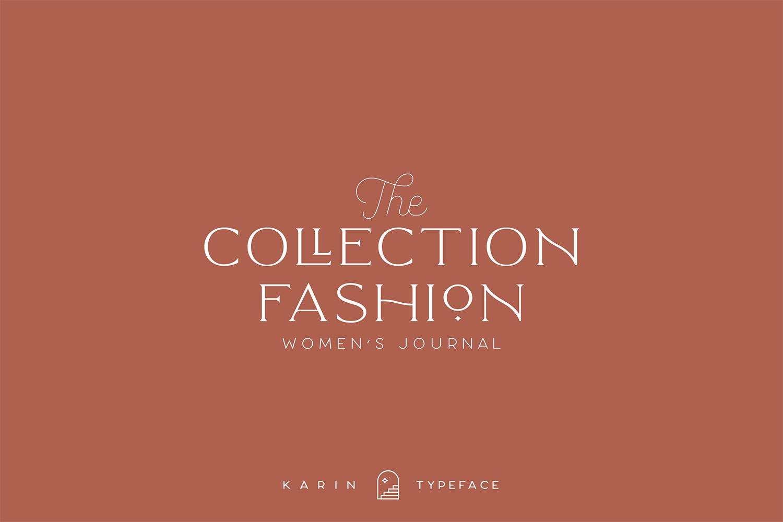 Elegant Karin - Fashion Stylish Typeface example image 16