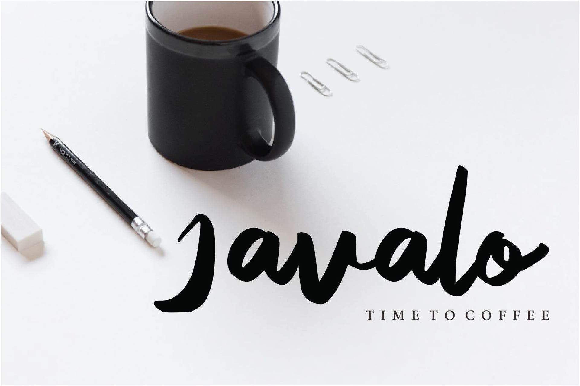 Kavelleri - Brush Font example image 4