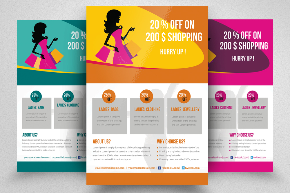 6 Big Sale Offer Flyers Bundle example image 6