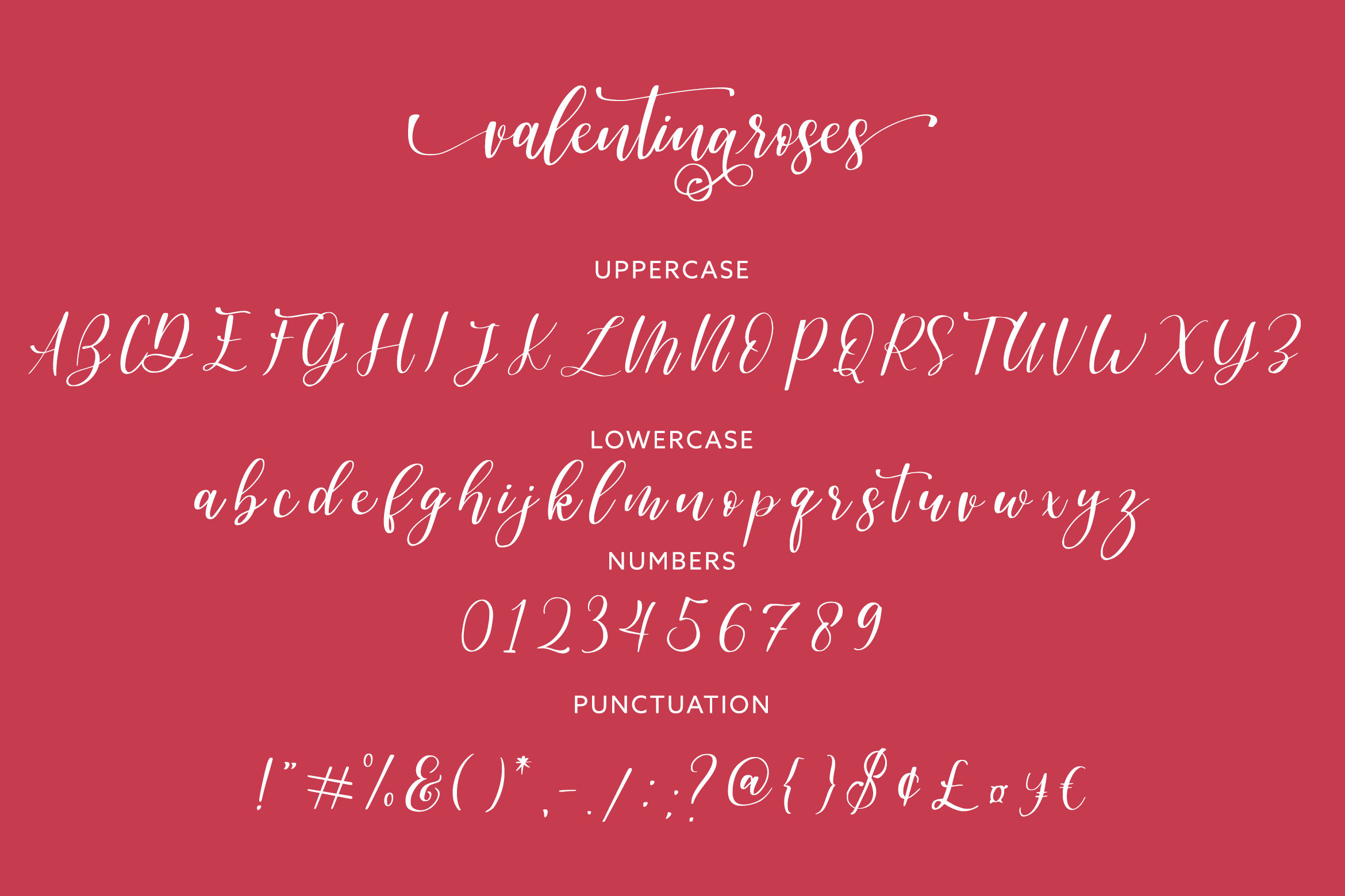Valentinaroses Lovely Script Font example image 5