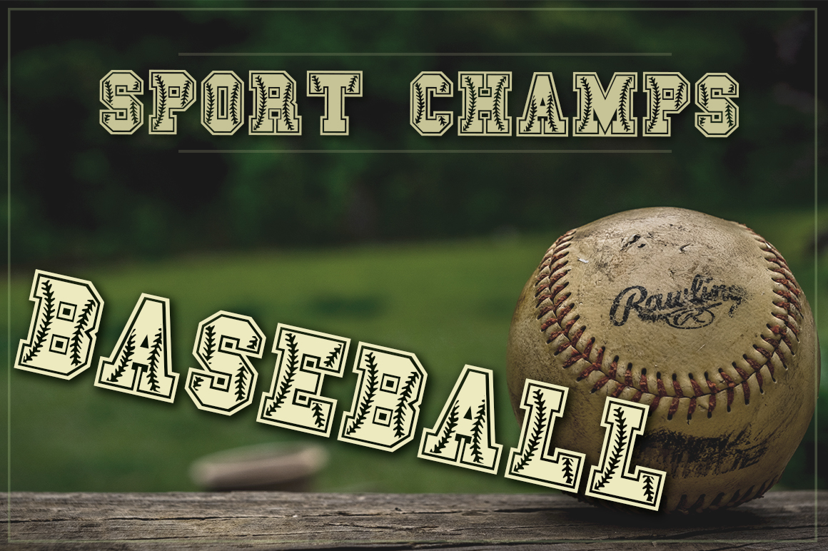 The Sport Champs Font Pack example image 10