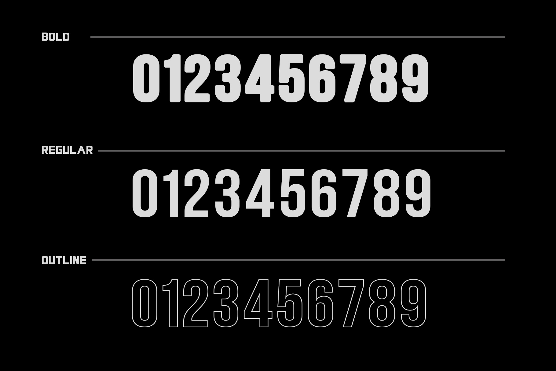 LETHAL - 3 sans font family example image 8